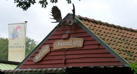 Boshut 't Panneland in Vogelenzang