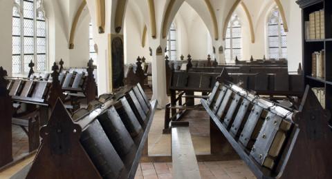 Middeleeuwse kettingbibliotheek De Librije in Zutphen