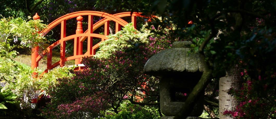 Brug in de Japanse tuin, Den Haag