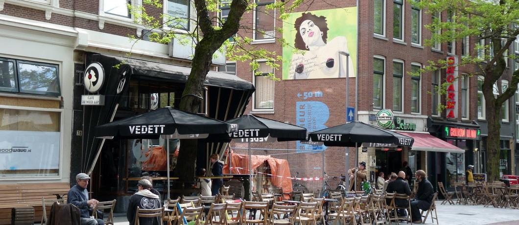 Café De witte aap in de Witte de Withstraat