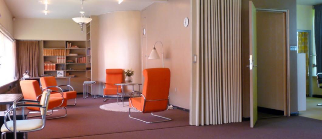 Huis sonneveld in rotterdam toonbeeld van het nieuwe bouwen reisblog davides for Interieur design huis