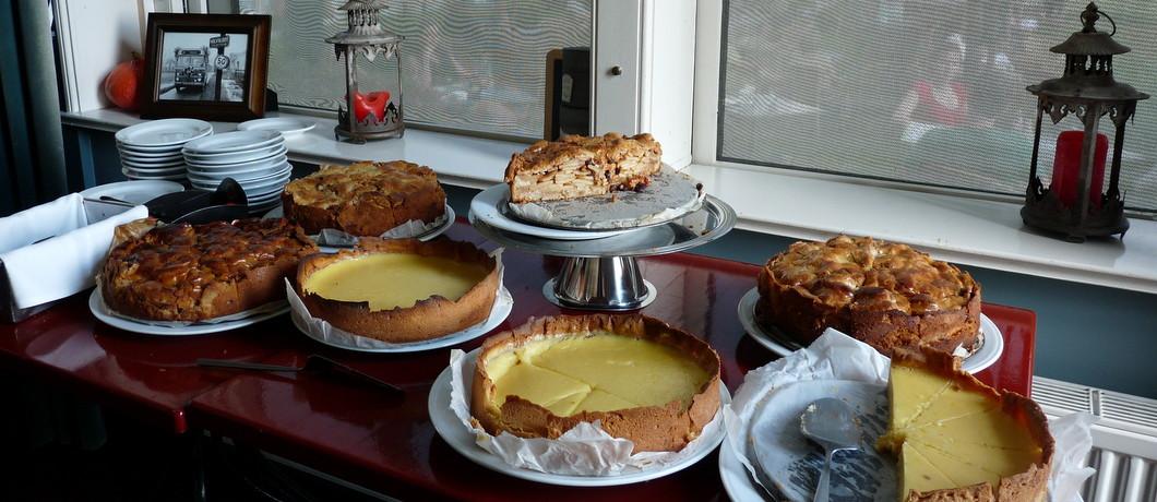 taarten bij Het Schoolhuis