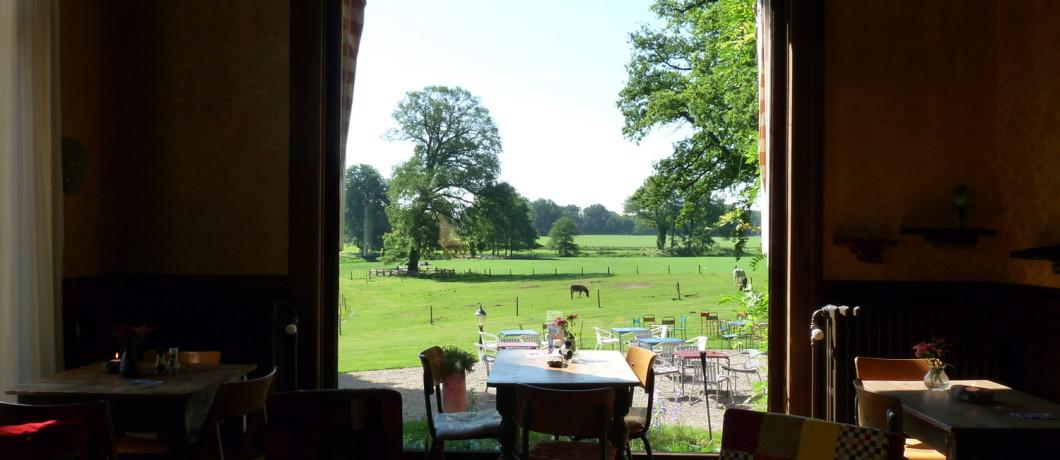 Uitzicht bij hotel Gaia bij Nieuw Rande, Diepenveen (foto: Davides.nl)