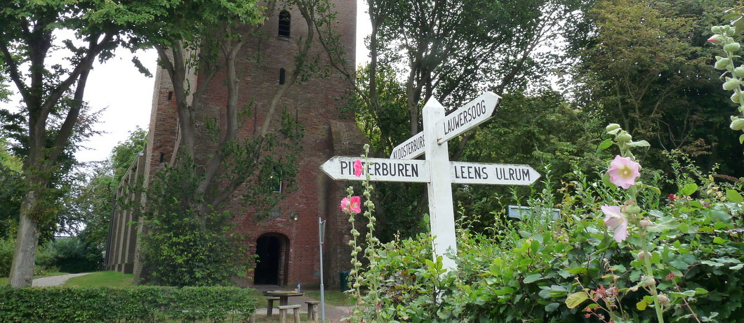Wegwijzer in Hornhuizen
