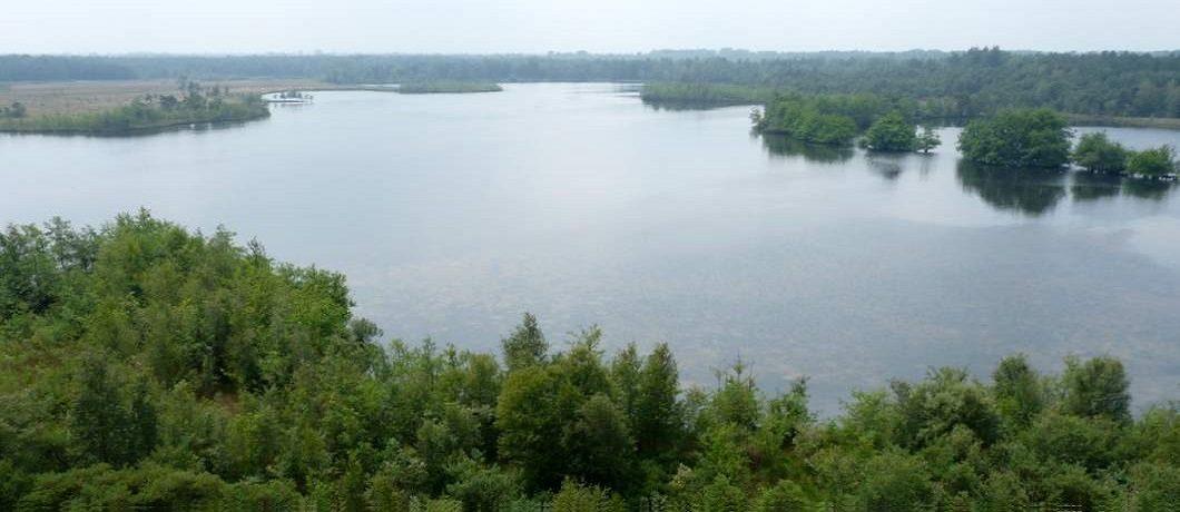 uitzicht over het Flaesven en omgeving vanaf de uitkijktoren