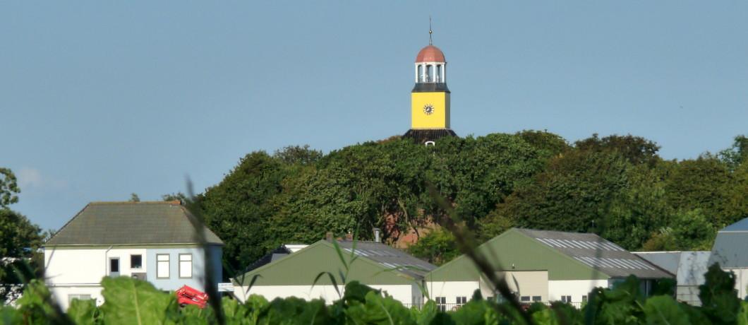 De kerk van Hornhuizen