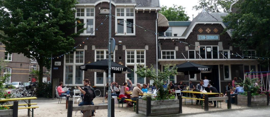 terras Mariapaviljoen Den Bosch