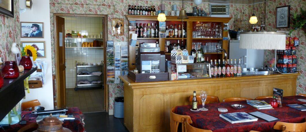 Interieur van café 't Zielhoes in Noordpolderzijl