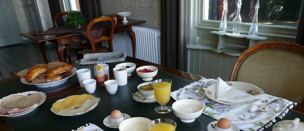 ontbijten bij B&B Moushouk