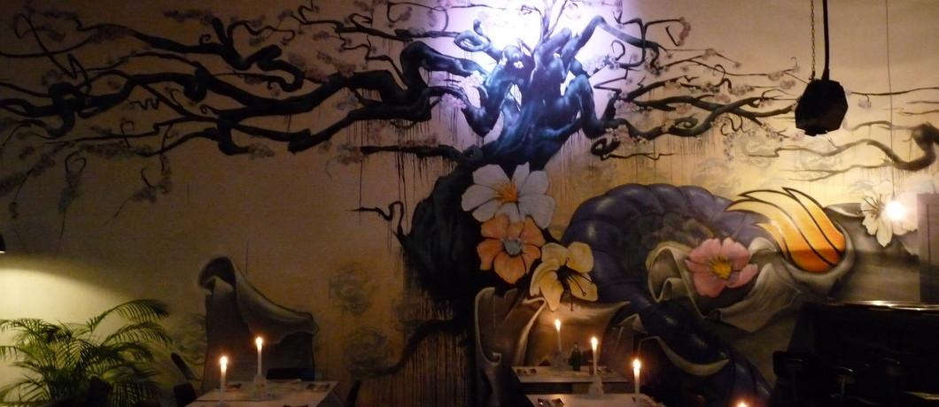 Interieur Aziatisch restaurant LE:EN Utrecht