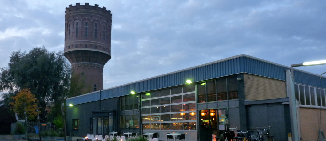 Watertoren Heuveloord bij restaurant LE:EN Utrecht