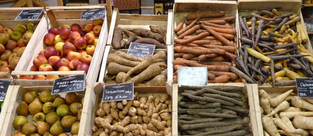 Vergeten groentes bij Lindenhoff Marché in Baambrugge