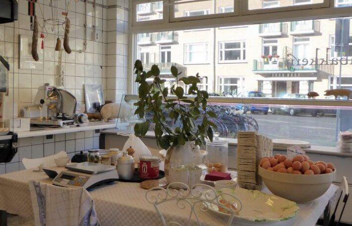 Interieur De Pasteibakkerij in Amsterdam