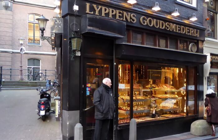 Juwelier en goudsmederij Lyppens, Amsterdam