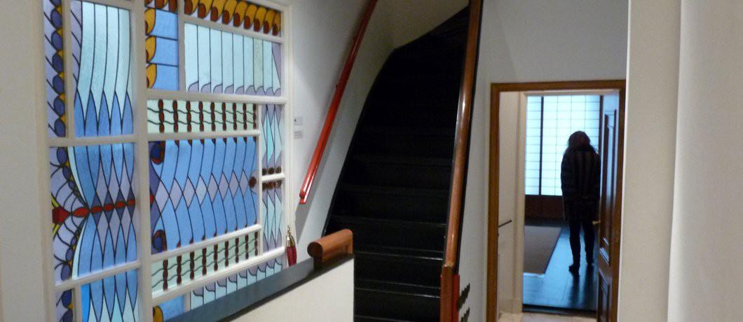 Nihon no hanga trappenhuis