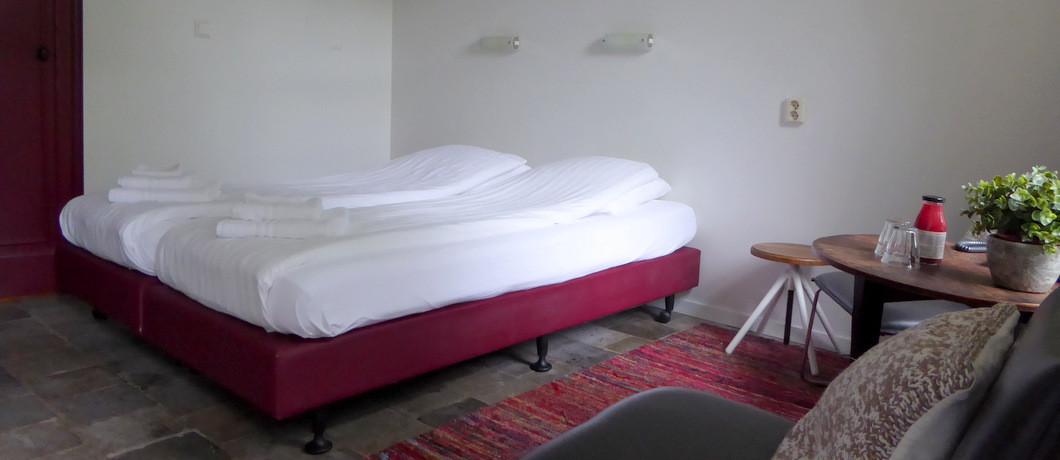Oortjeshekken hotelkamer