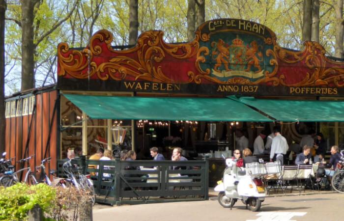 poffertjeskraam De Haan in Laren