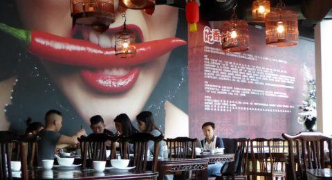 Hippe inrichting van restaurant SãnSãn