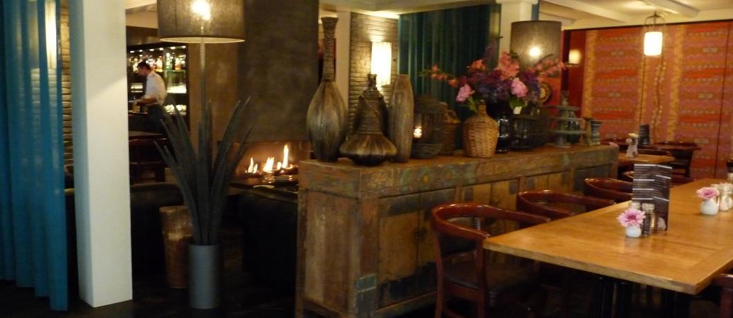 Het modern restaurant van hotel Tante Sien