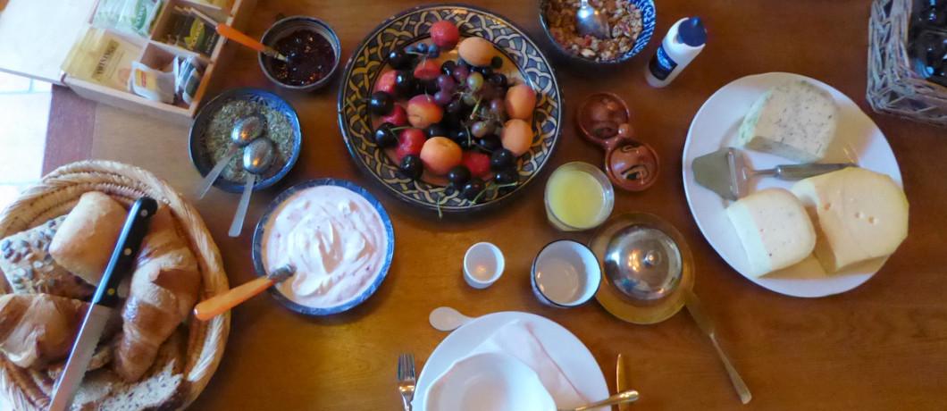 Ontbijt B&B Landgoedhoeve Vosbergen