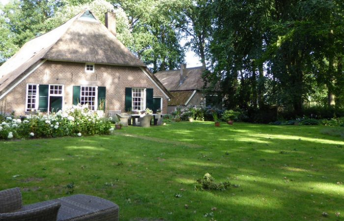 tuin B&B Landgoedhoeve Vosbergen