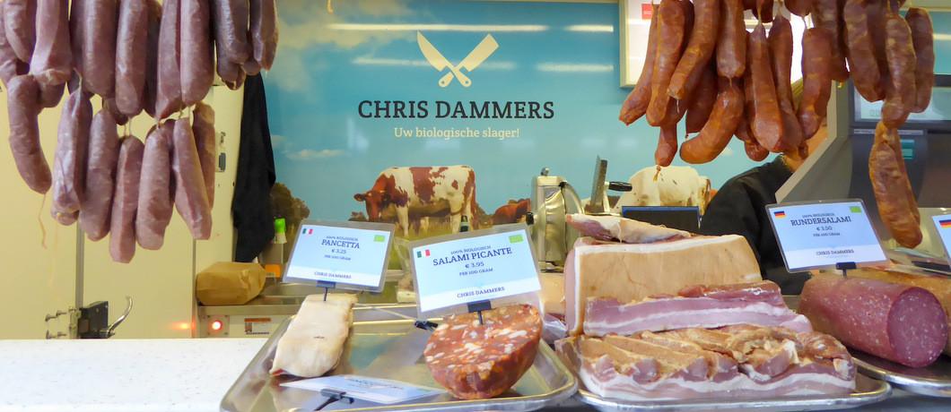 biologische vleeswaren van Chris Dammers