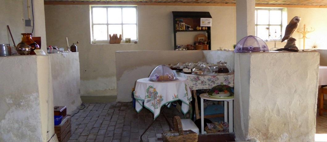 Interieur van theetuin de Tungelroysebeek in De Krang