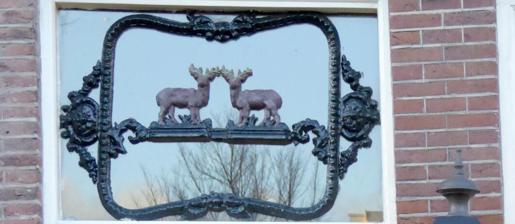 Herten bovenlicht in Amsterdam