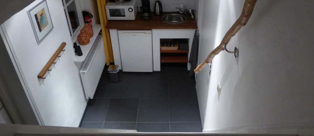 Kleine handige keuken