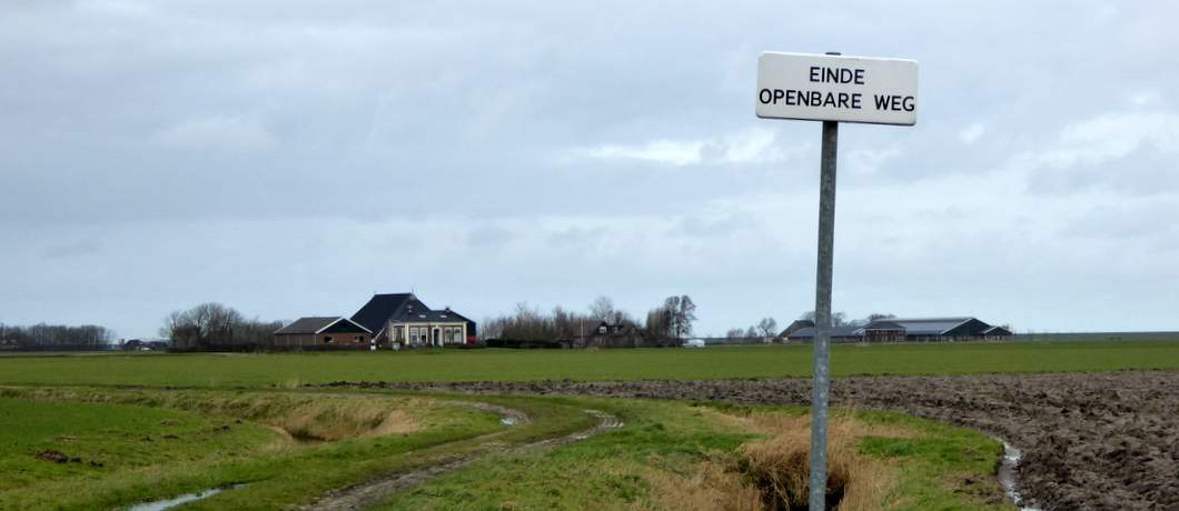 Onverharde historische paden in Noordoost-Friesland