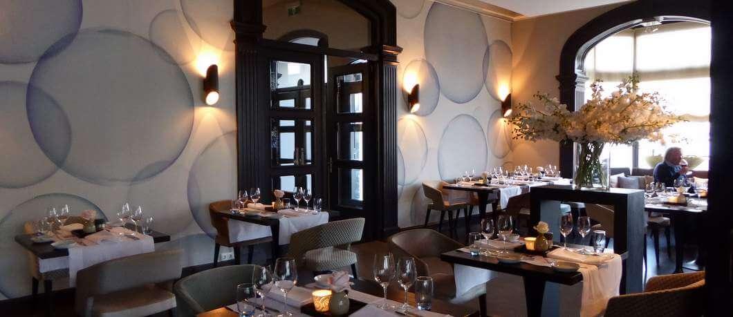 Eetzaal restaurant Dorset (Davides)
