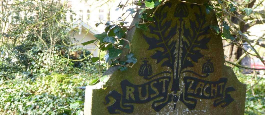 Grafsteen Rust zacht op Huis te Vraag
