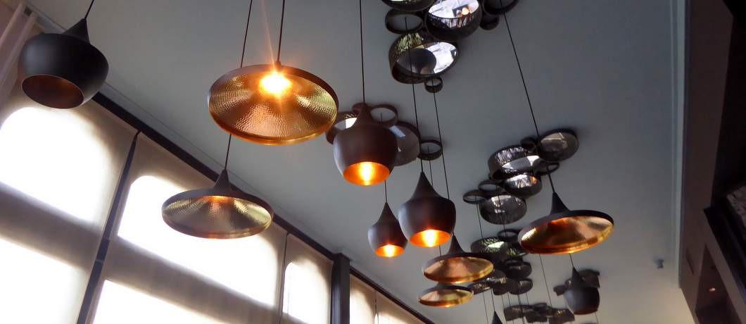 Lampen restaurant Dorset (Davides)