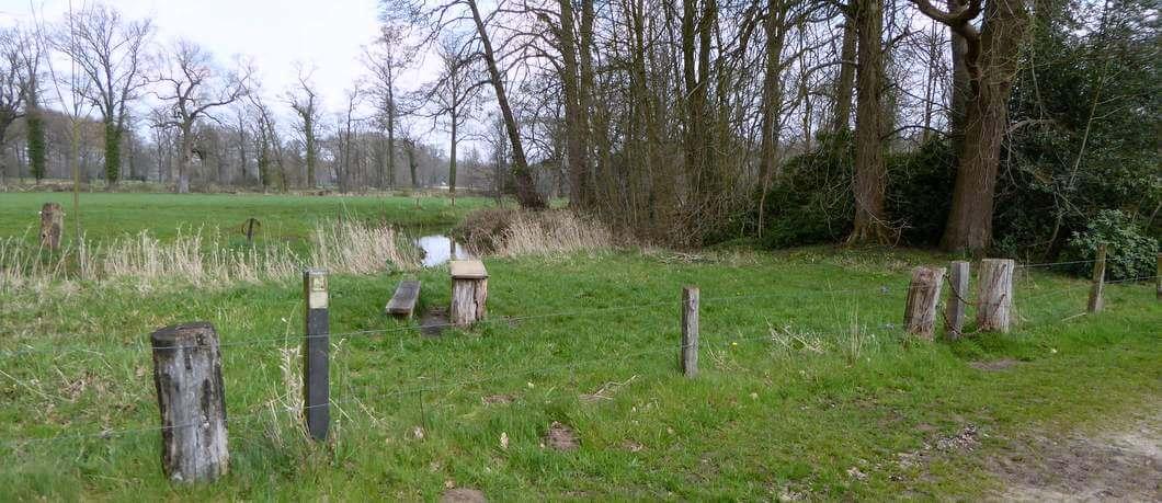 Paalkamperen op landgoed Twickel (foto Davides)