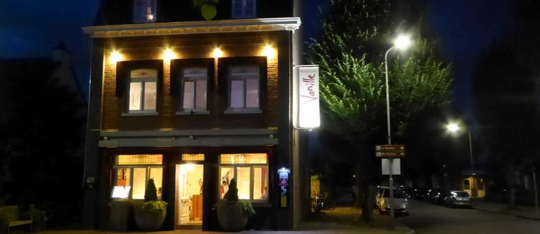 Avond bij restaurant Vanille in Eijsden
