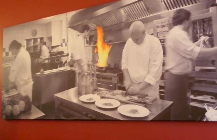 Interieur restaurant Vanille (foto: Davides.nl)