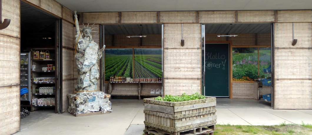 Binnenplaats Fruittuin van West (Foto: Davides.nl)