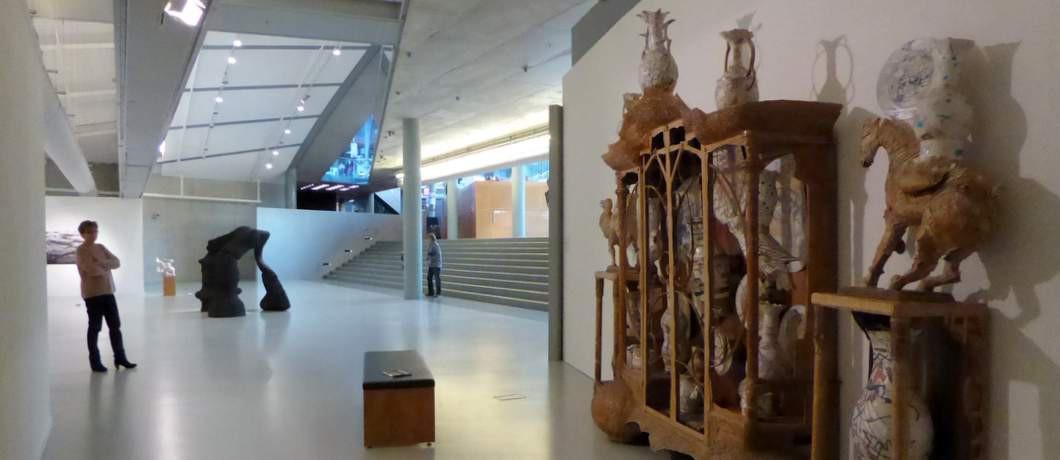 Niveauverschillen in het CODA Museum