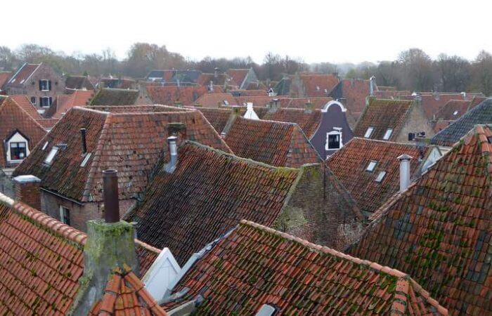 Elburg gezien vanuit de Vischpoort.