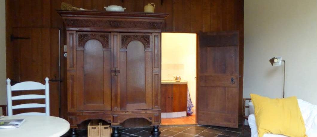 Interieur Cornelia's Tuinhuis