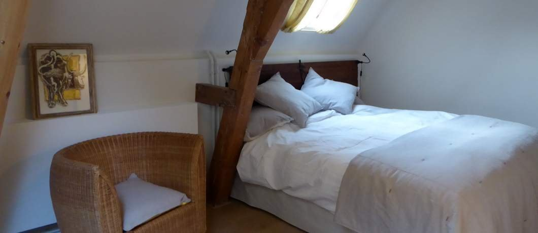 Slaapkamer Cornelia's Tuinhuis