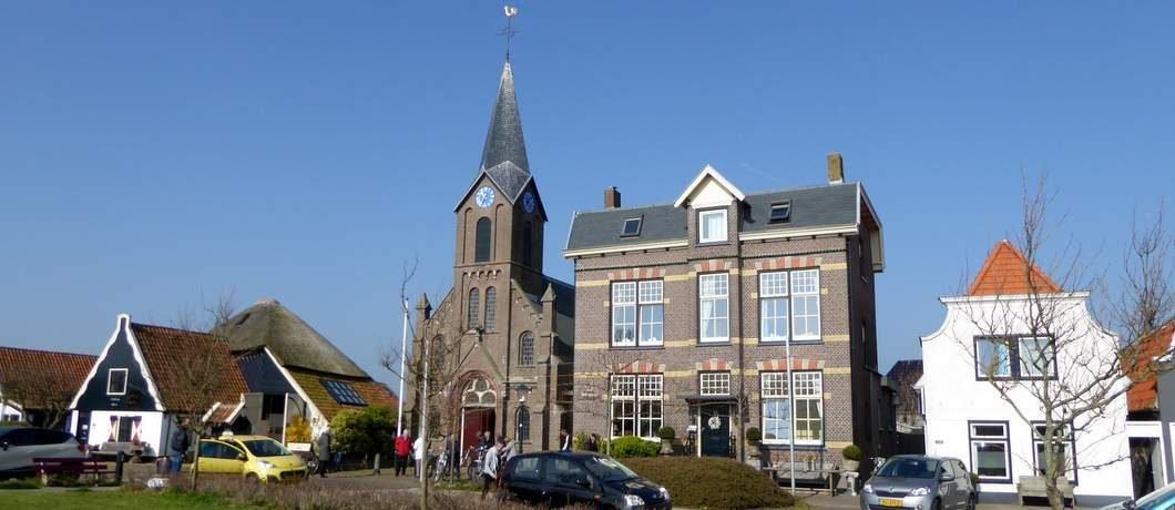 B&B Pastorie Marie naast kerk in Oudeschild op Texel