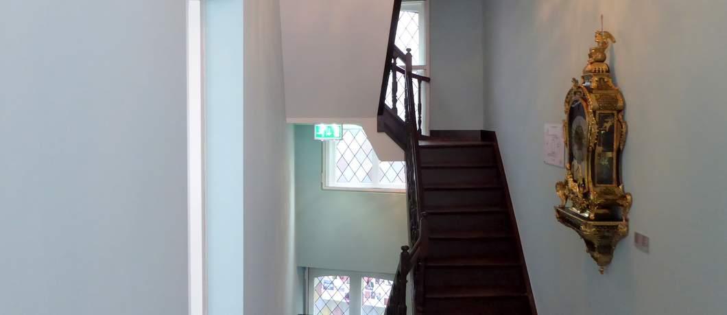 Trappenhuis in Museum aan het Vrijthof