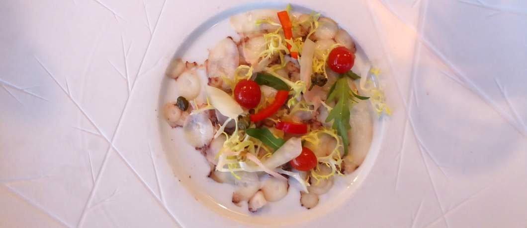 Octopus volgens de moleculaire keuken bij 't Pakhuus