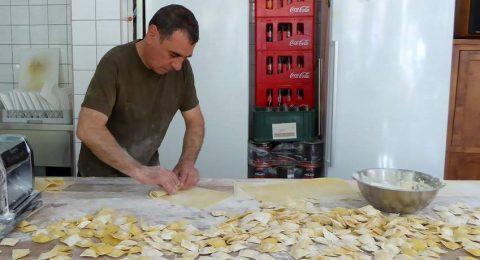 Roberta Mura van Salvatorica maakt alle pasta's zelf