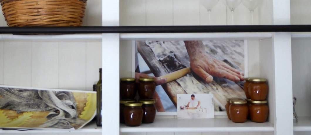 Zelfgemaakte bramen- en vijgenjams bij Salvatorica