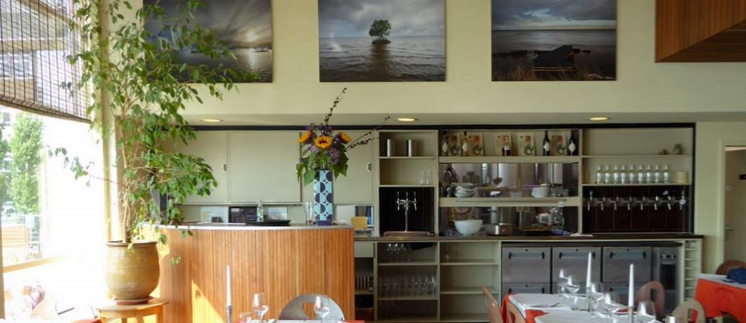 Het restaurant van Pension Homeland
