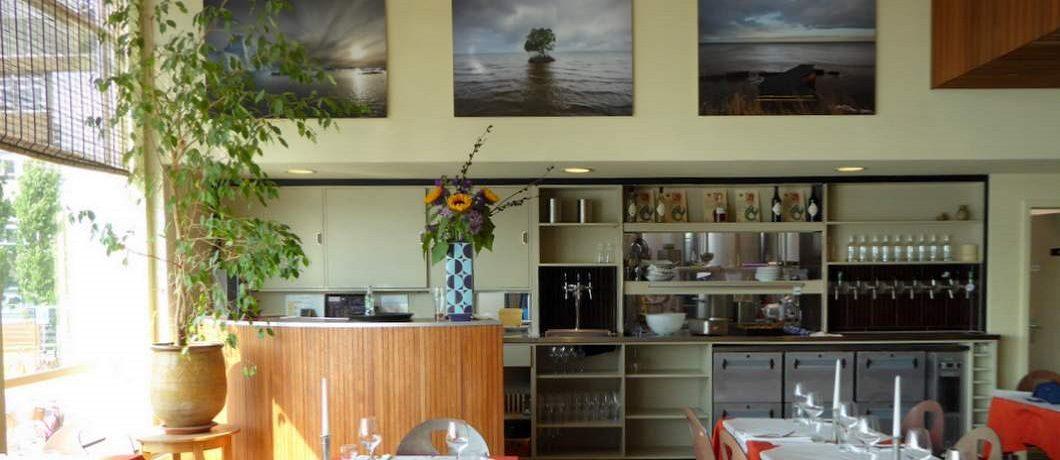 Het restaurant van Pension Homeland