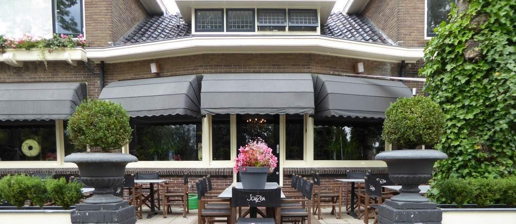 Terras restaurant JanZen in Woerden