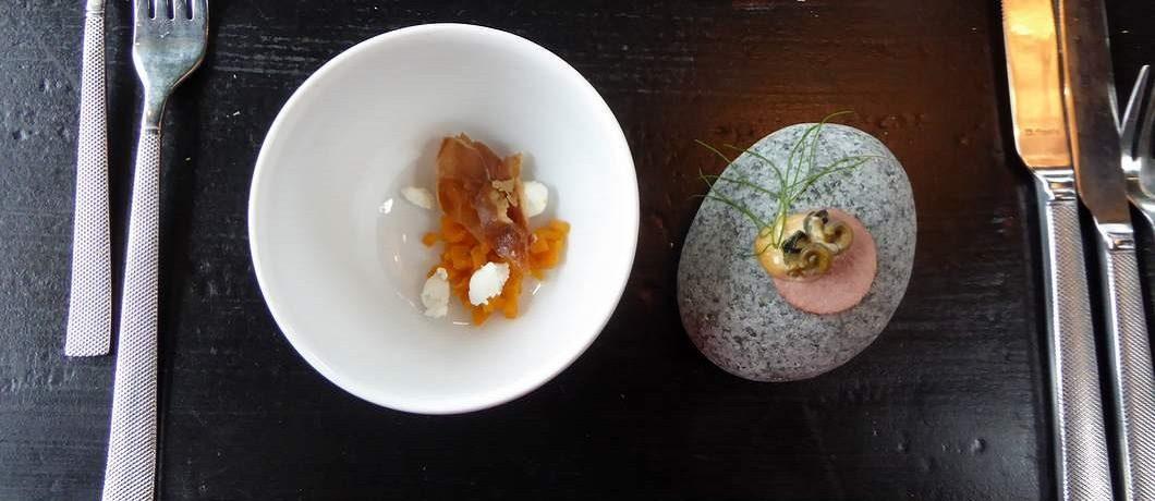 Amuse bij restaurant Bistronoom in Woerden